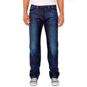 Men's Levi's 511 dark denim jeans 28 X 32